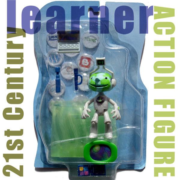 21st Century Learner Action Figure