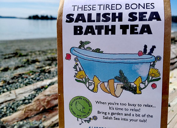 These tired bones SALISH SEA BATH TEA