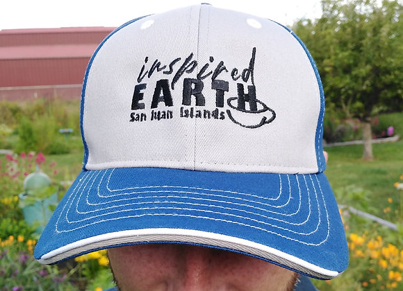 Inspired Earth Sportsman Embroidered Tri-Color Cap