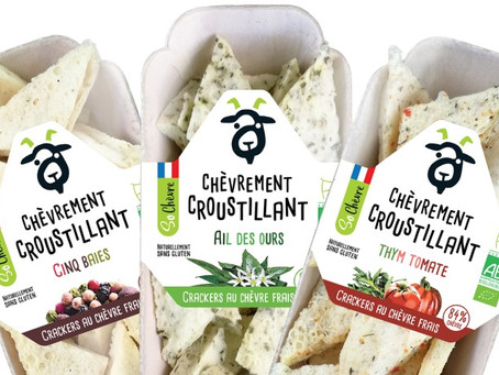"So Chèvre Apéro : des crackers ""chèvrement croustillants !"" - Biocontact - 11/2020"