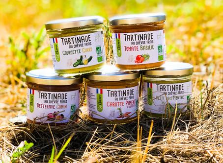 Des tartines au fromage de chèvre pour l'apéro - réussir La Chèvre - 10/2019