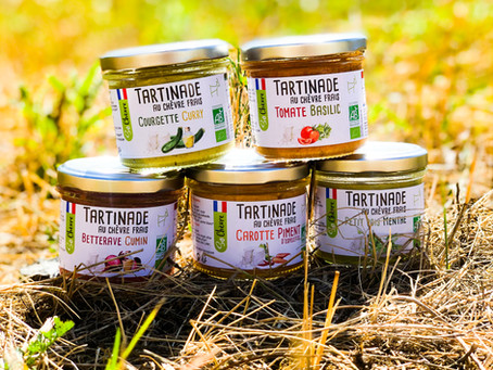 Tartinades So Chèvre - snacking.fr - 10/2019