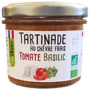 Tartinade So Chèvre au chèvre frais tomate basilic, bio