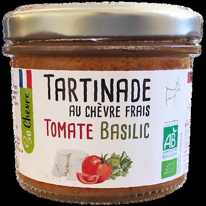 Tartinade au chèvre frais Tomate Basilic So Chèvre Bio