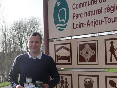 Parçay-sur-Vienne : Amaltup, le lait de chèvre autrement - La Nouvelle République - 11/02/2020
