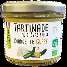 Tartinade au chèvre frais Courgette curry So Chèvre Bio