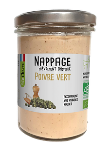 Nappage sauce blanche Poivre Vert So Chèvre Bio