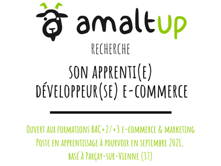 OFFRE D'APPRENTISSAGE Développeur(se) e-commerce