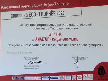 Amaltup remporte le 1er prix du concours ECO-TROPHEE !