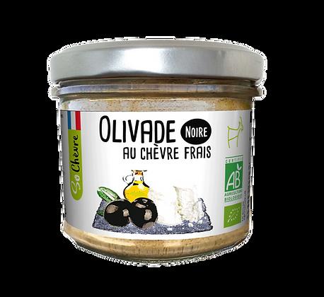 So Chèvre Bio schwarze Olivenpaste mit frischem Ziegenkäse