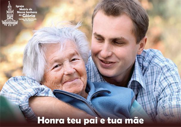 Honra teu pai e tua mãe