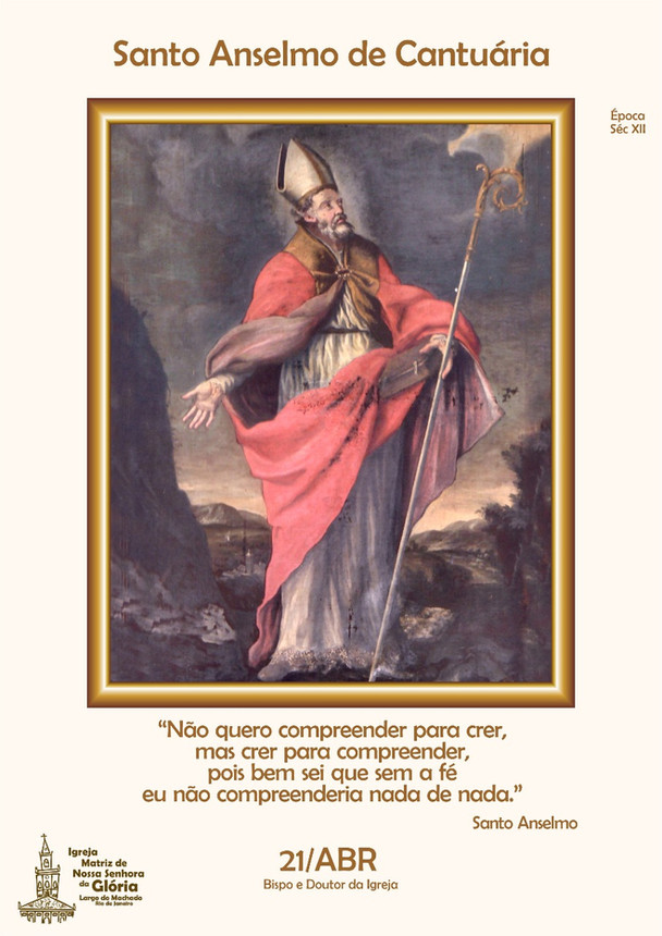 Santo Anselmo de Cantuária