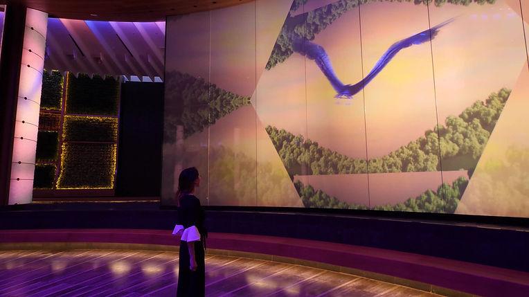 Piico Pico Velasquez Oculus Hard Rock Hotel and Casino Immersive Architecture Let's Dance David Bowie