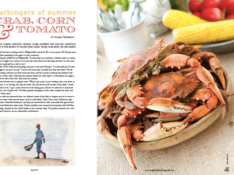 Crab, Corn, Tomato