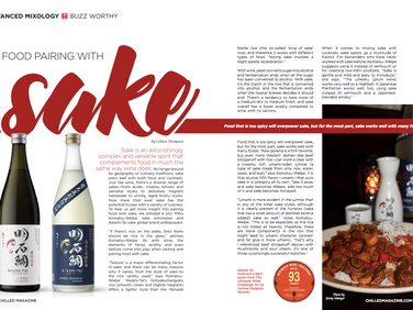 Food Pairing with Sake