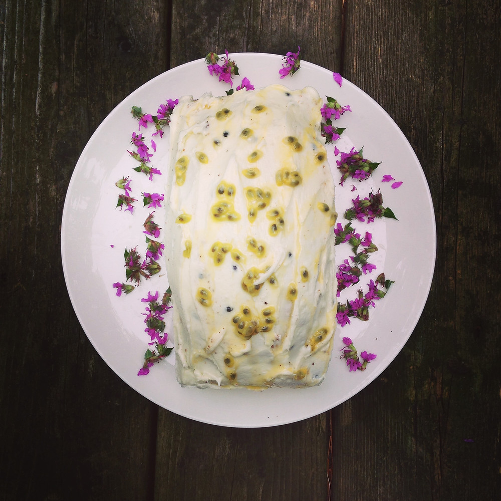 auntie elsa's south african granadilla cake