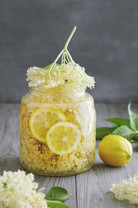 Homemade Elderflower Syrup. Elderflower