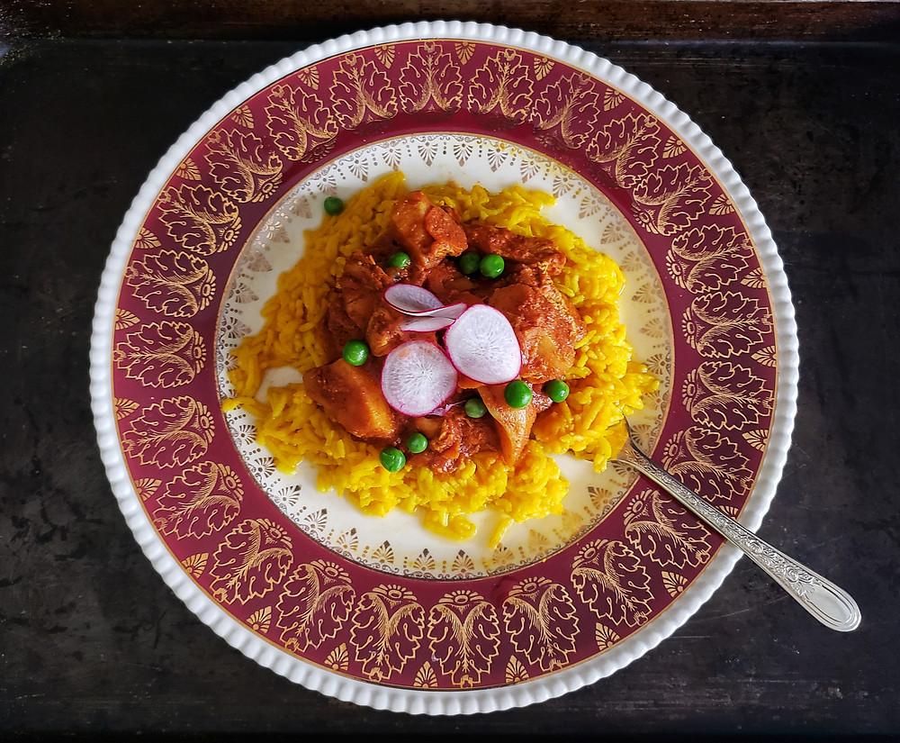 Kapitan's Chicken Curry