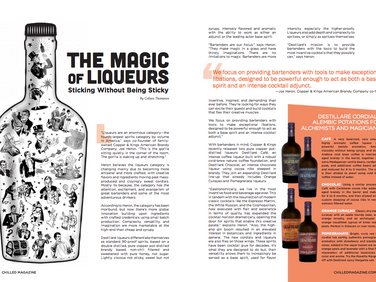 The Magic of Liqueurs