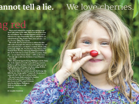 We Cannot Tell A Lie We Love Cherries
