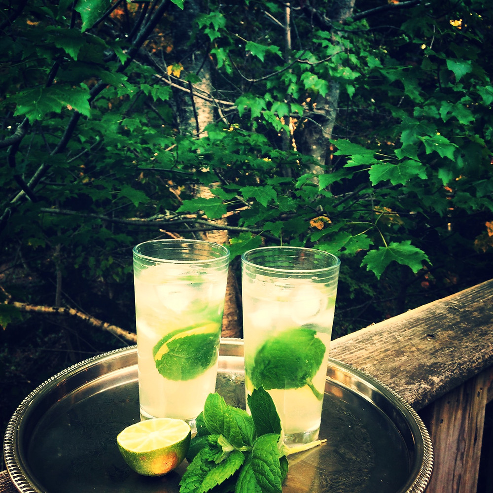 monkey weddings & summer sapphires wild mint mojitos