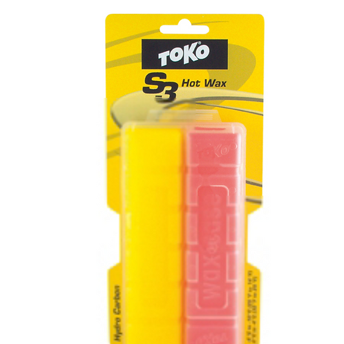 Skiwachs S3 Hydro Carbon Yellow/red 120g