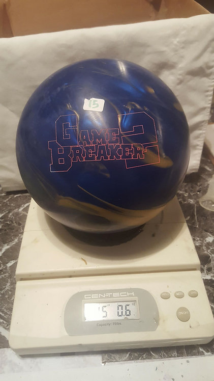 Ebonite Gamebreaker 2 Gold/Blue