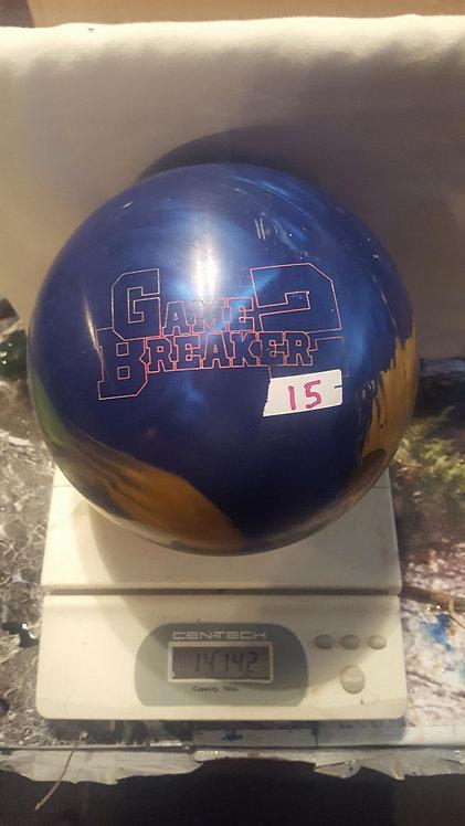 Ebonite Gamebreaker 2 Gold/Blue