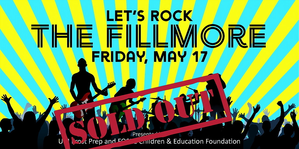 Let's Rock the Fillmore!