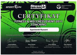 fitness & welnness 2012