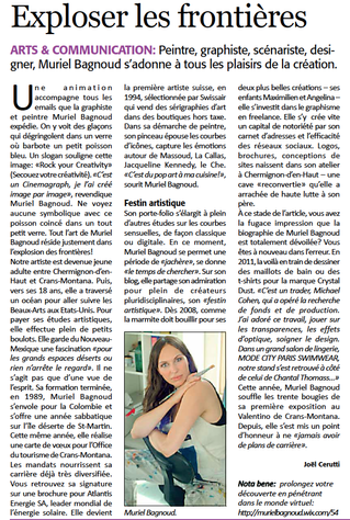 ARTICLE 6ème DIMENSION 2014