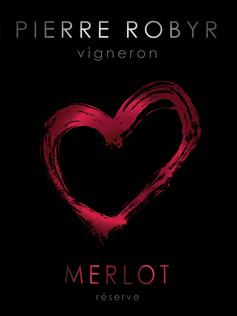 étiquette de vin Pierre Robyr