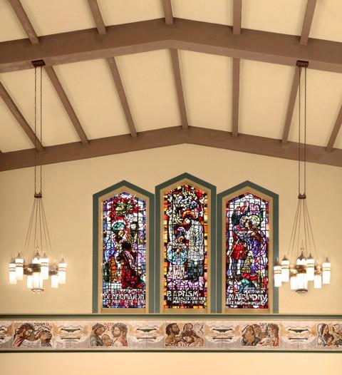 St. Boniface Window Accent