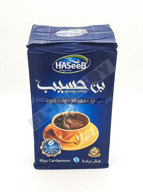 Haseeb Arabic Coffee Blue Plus Cardamom 500g