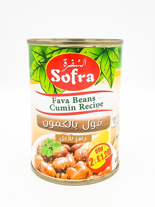 Sofra Fava Beans Cumin Recipe 400g
