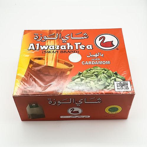 Swan Tea with Cardamom (100 Tea bags)