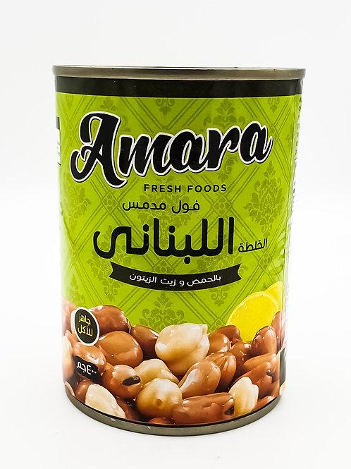 Amara Fava Beans Lebanese Recipe