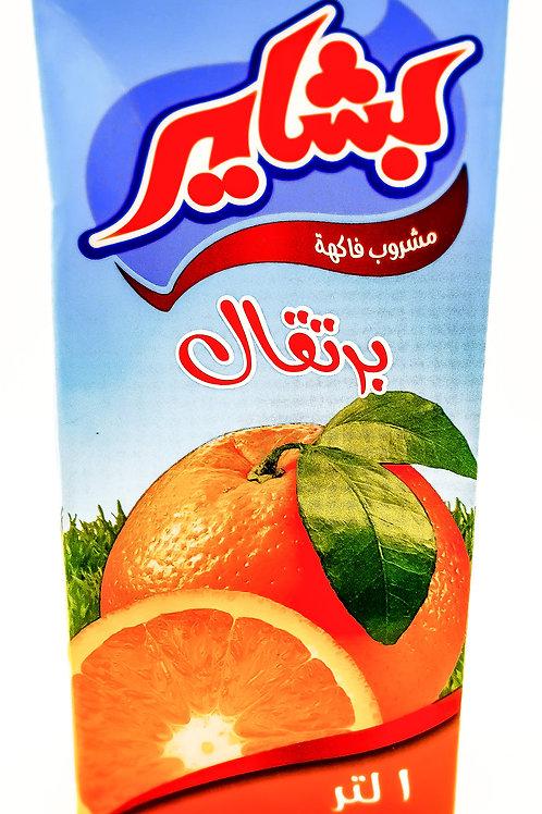 WS-Bashayer Orange Juice (1LX12)