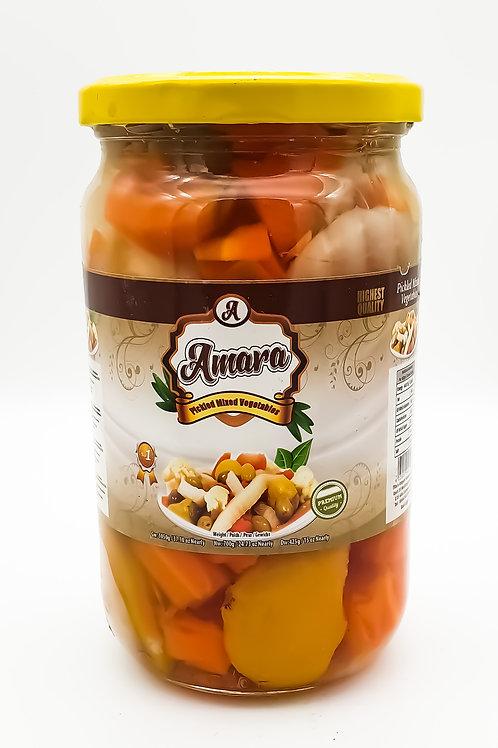Amara Mixed Pickled Vegetables 1030 g