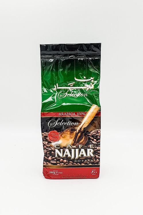 WS-Najjar Turkish Coffee With Cardamon 200gX20