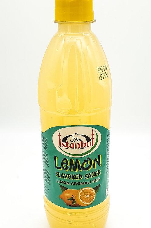 WS- Istanbul Lemon Flavoured Sauce 500mlX12
