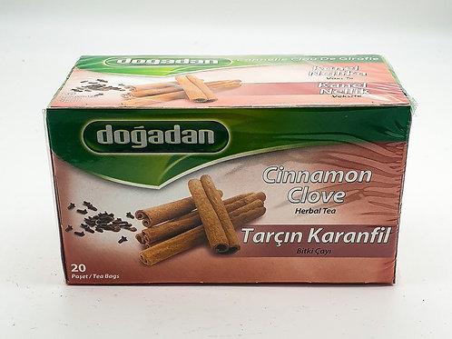 WS-Dogadan Cinnamon Cloves Tea 20 bags X12