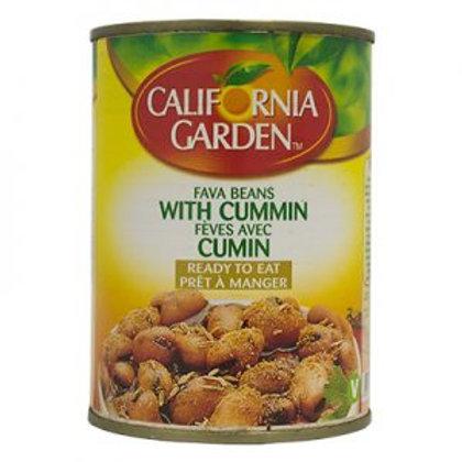 WS- California Garden fava bean with Cumin 400gx12