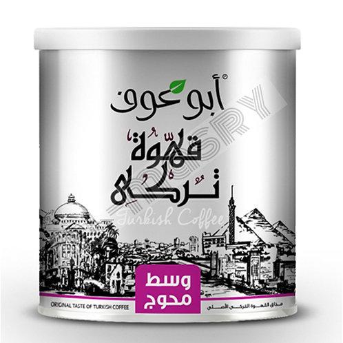 Abu Auf Turkish Coffee 250g Medium Roast Blended