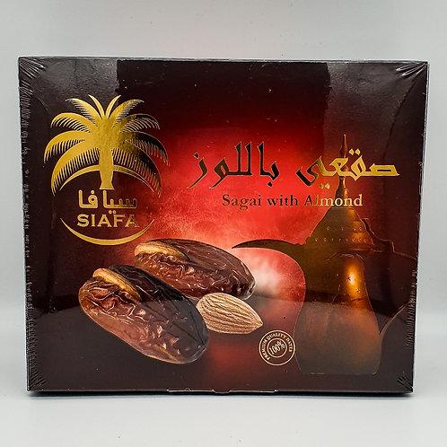 Siafa Sagai Almond Dates 300g