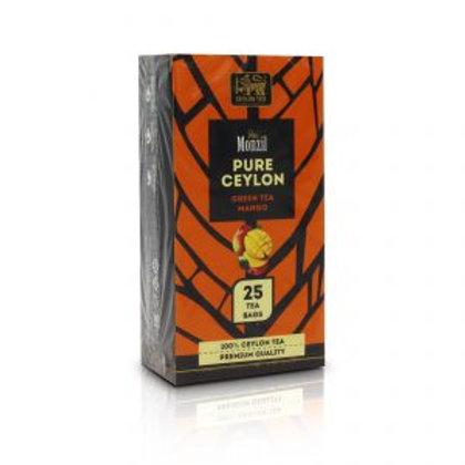 WS- Monzil Pure Ceylon Green Tea Mango 25 bagsX24