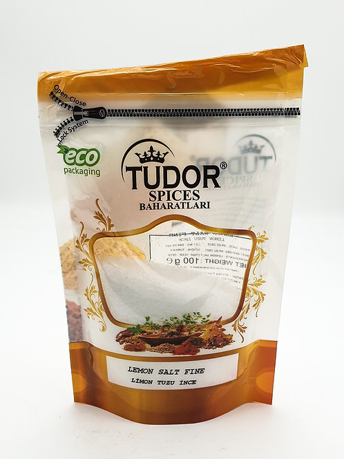 Tudor Lemon Salt Fine 100g