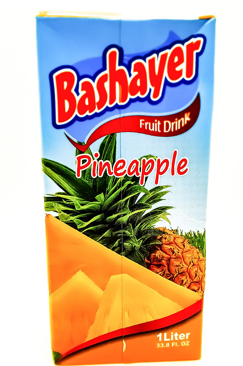 Bashayer Pineapple Juice 1L