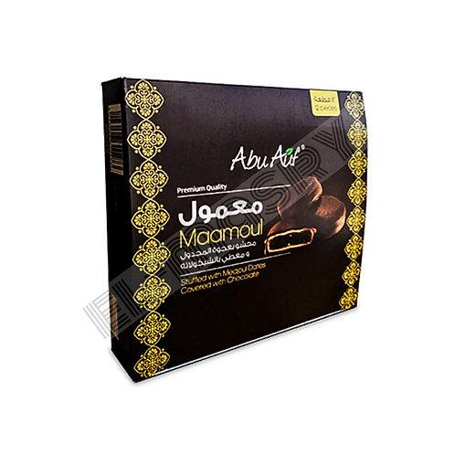 Abu Auf Dark Chocolate Mamool  Stuffed Madgul Dates