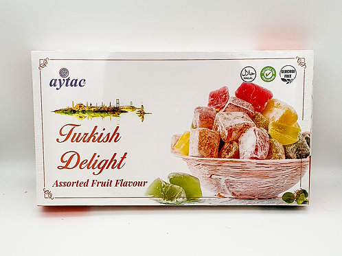 Aytac Turkish Delight Assorted Fruit 350g